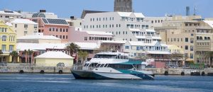 bermuda farja panorama 300x130 - Bermuda Ferry And Hamilton Waterfront