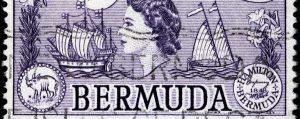 bermuda frimarke panorama 300x119 - Bermuda Stamp